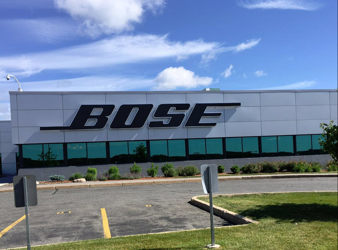 Bose Headquarters near Boston MA